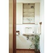 塩系インテリアの会/塩系インテリア/築41年中古マンション/古い扉/Bathroom…などに関連する他の写真