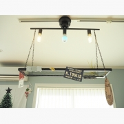 ダクトレールを使って、天井インテリアを楽しもう!