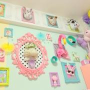 女の子の特権♡全面パステルカラーのお部屋