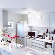 清潔感のあふれる、憧れの白いキッチンにするためのヒント
