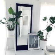 鏡で高級感を演出しよう♪ IKEAミラーの飾り方