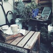これで実現!ベランダをカフェ風にチェンジ!