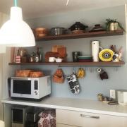 レンガシート/ホーロー大好き♥/Kitchenに関連する他の写真