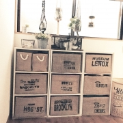 カラーボックスにスッキリ収納♪「収納ボックス」実例