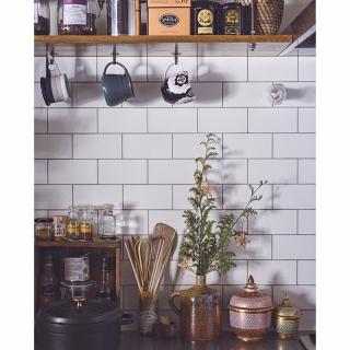 女性の、1R、家族住まいの「キッチン」についてのインテリア実例