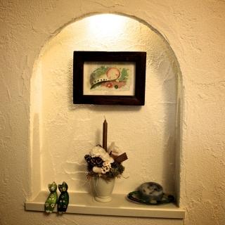 男性の、、家族住まいの「棚」についてのインテリア実例