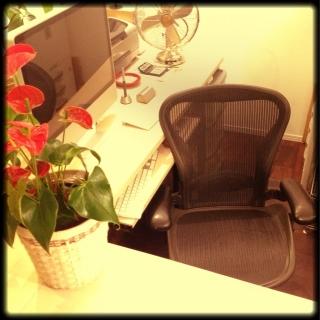 男性の、、家族住まいの「机」についてのインテリア実例