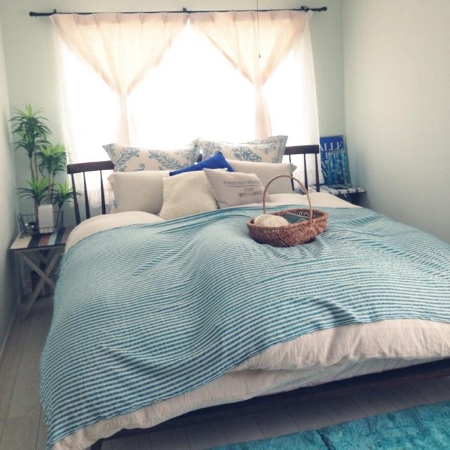 寝心地・デザイン文句なし♡快適すぎるニトリのベッド