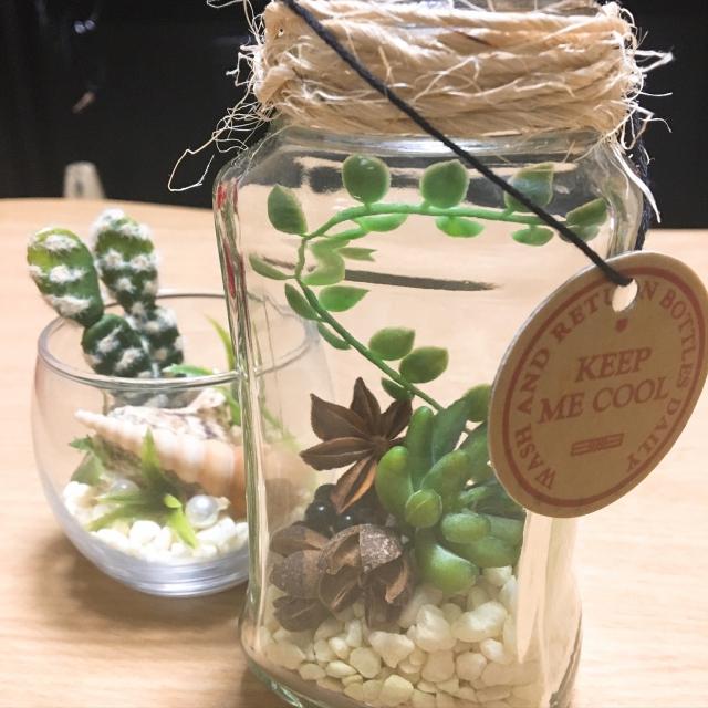 マネしたい♡100均ガラス瓶の飾り方アイデア10選