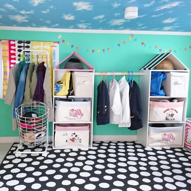 カラーボックスDIYでお気に入りの子ども部屋を作ろう♪