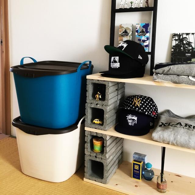 ランドリーや収納に使える♡バケツ・バスケット型アイテム