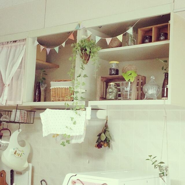 ちょこっとから本格派まで。吊戸棚改造でキッチンの雰囲気が変わる