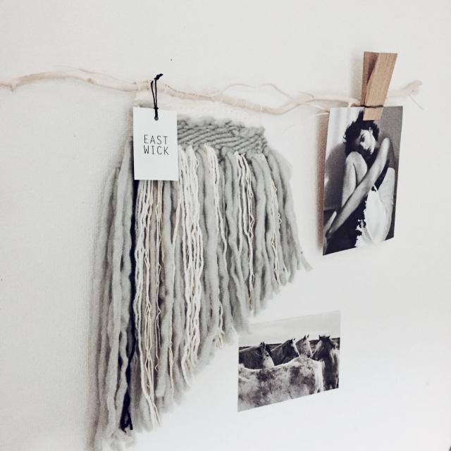 100均の毛糸で、世界にひとつだけのweavingをつくろう♪