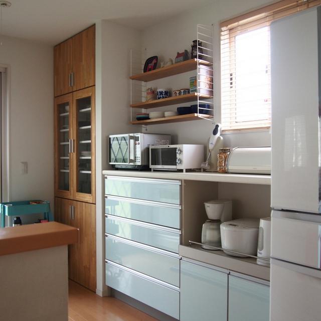 「好きを諦めないシンプルライフ。見せる×隠す収納で作るすっきりキッチン」 by Aoiさん
