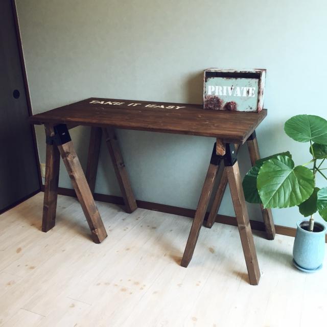 家事にも作業にも役立つ!DIYで自分らしく作る作業台10選