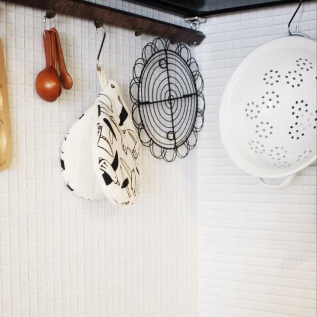 キッチンの相棒に♪種類豊富で楽しいダイソーの鍋つかみ