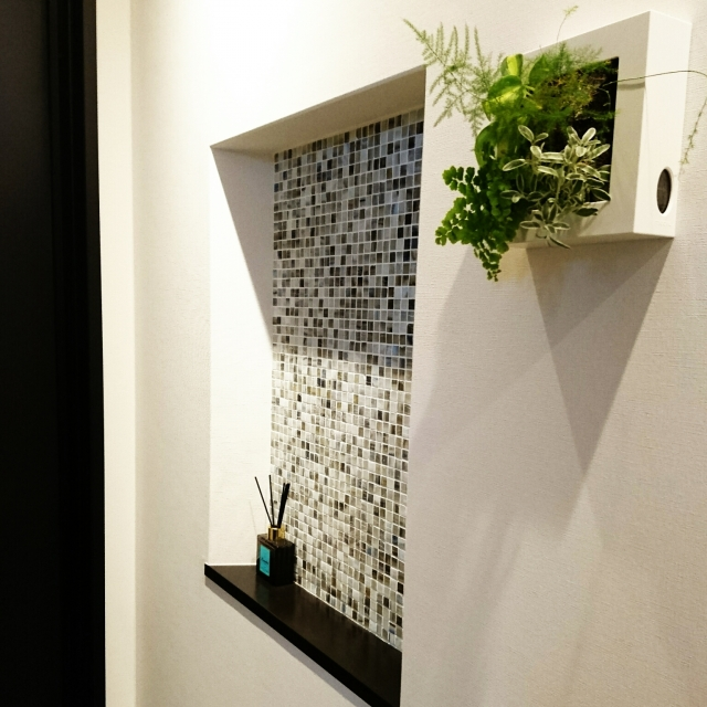 簡単ボタニカル!無印良品の壁にかけられる観葉植物実例