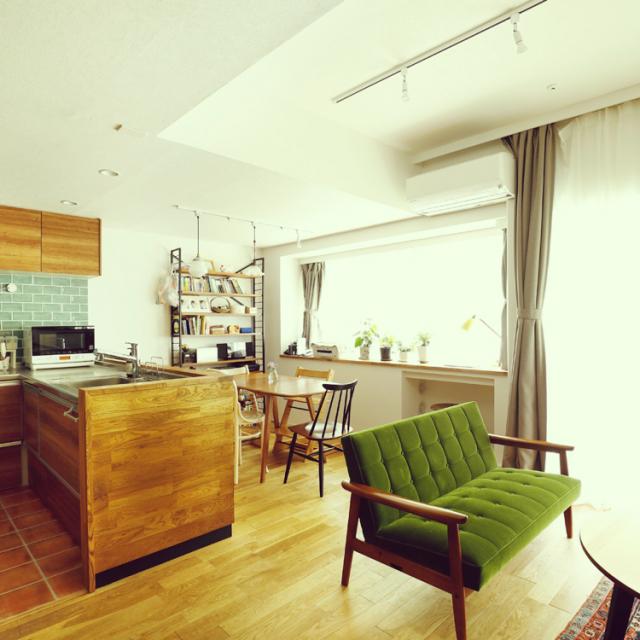 「リノベが叶えた好きが輝く家。古きと新が調和する空間」 by Towaさん