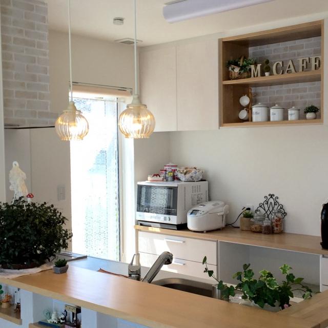 Overview,100均,DIY,カッティングシート,ナチュラルキッチン,ナチュラルが好きのインテリア実例   RoomClip (ルームクリップ)