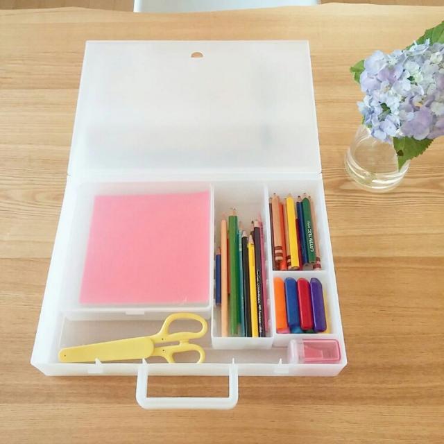 持ち運べるものやディスプレイ収納も◎文房具整理整頓術