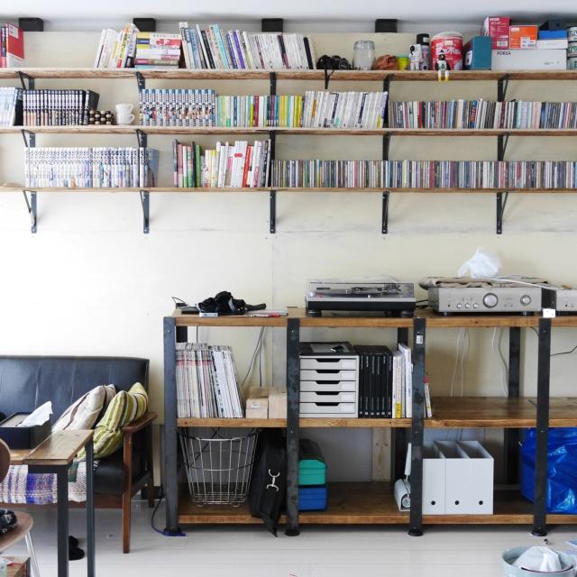 囲まれる幸せ。本好きさんのための本棚のあるお部屋10選