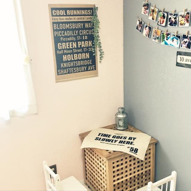 袋を「貼るだけ」簡単♪お部屋のイメージチェンジ術 by mont-blueさん [連載:○○しただけインテリア]
