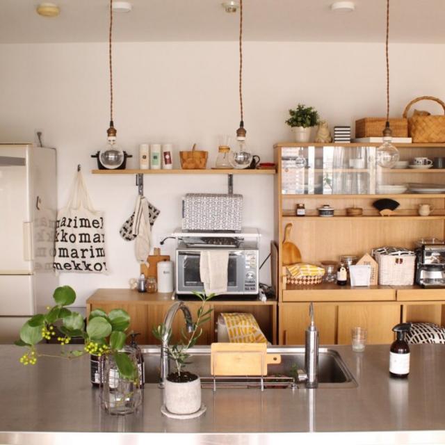 「暮らしを豊かにする、機能的で開放的な北欧シンプル」憧れのキッチン vol.107 sisko_tomokaさん