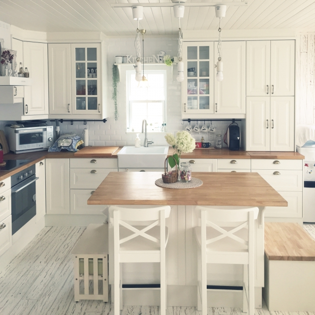 海外キッチンを目指すなら!IKEAで叶える☆理想のキッチン