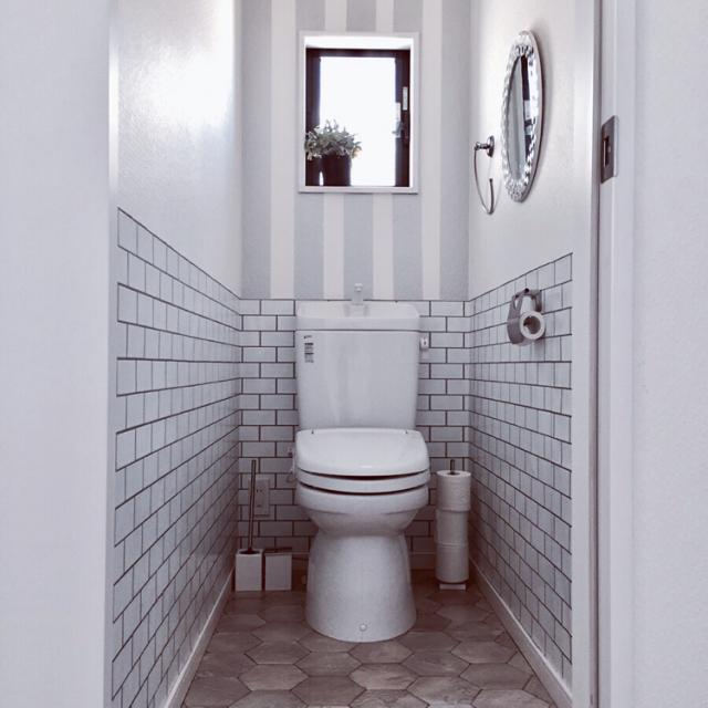 トイレがこんなに変わる♪DIYで叶えるわたしの理想の空間