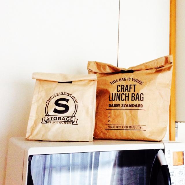 収納アイテムの新定番☆セリアのペーパーバッグ&紙袋