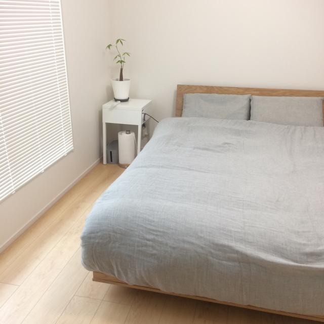 ゆったりとした時間を過ごす!シンプルな寝室空間をご紹介