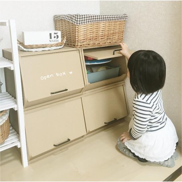 ユーザーさんの声で生まれた収納「おうちすっきりボックス」で隠す収納のお手伝い!【山善おうちすっきりプロジェクト通信vol.10・PR】