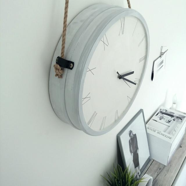 時を刻むだけじゃない!DIYで時計のある暮らしを楽しもう