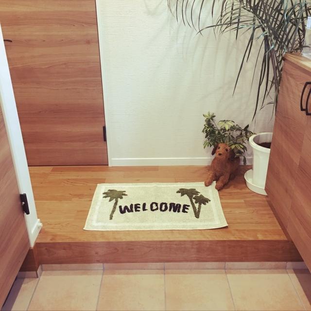 家の魅力をアピール☆種類豊富なニトリの玄関マット