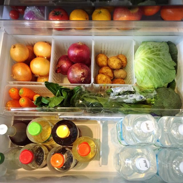 憧れのスマート収納♡このユーザーさんの冷蔵庫の中が凄い
