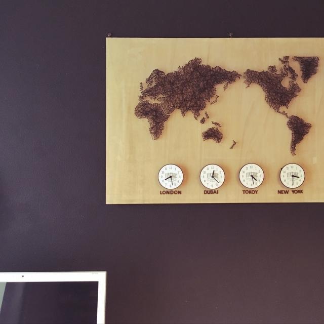 自分で作るお気に入り♪素材とデザインにこだわるDIY時計