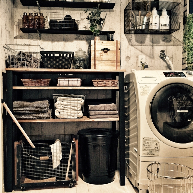 洗面所の壁面を上手におしゃれに有効活用!壁面収納アイデア10選