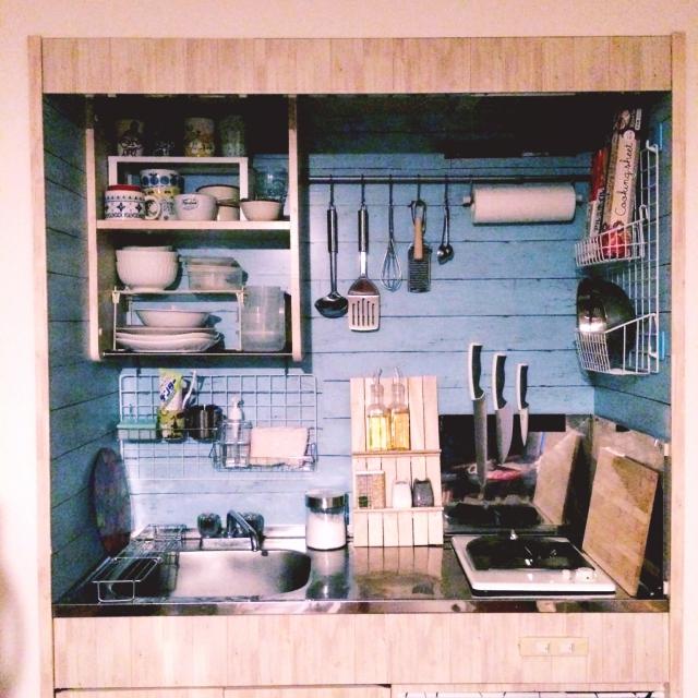 ワンルームだからこそこだわりのキッチンを☆10の実例集
