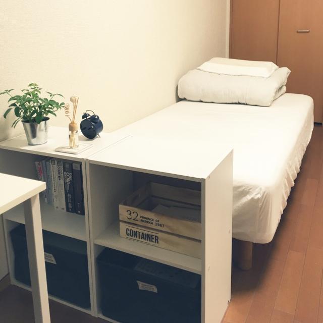 「26m2。清潔感たっぷりに運気も招く、ゆるミニマルな部屋」 by Yaさん