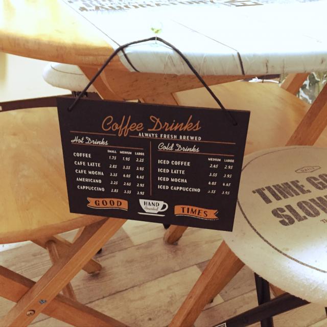 センス抜群!セリアのアイテムでカフェ風インテリア