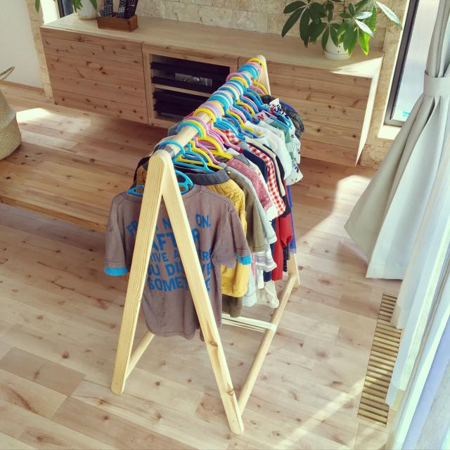 面倒な片付けを楽に♪洗濯物をスムーズに収納するアイデア