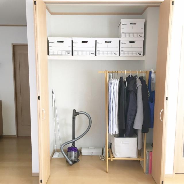 7割収納でスッキリ。家族が暮らしやすい収納のコツ by miii_yさん