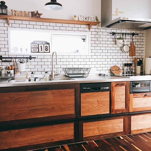 どれを選ぶ?こだわりぬかれた海外風キッチンカタログ