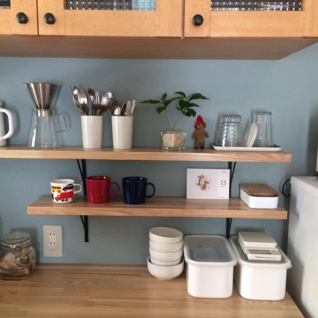 シンプルで使いやすい☆無印良品のキッチンツールスタンド