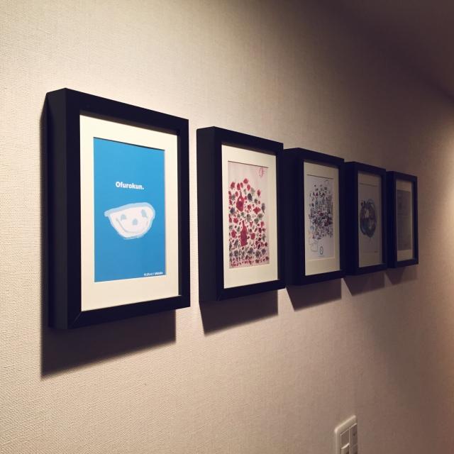 お家は小さな美術館☆子どもの作品を上手に飾るコツ10選