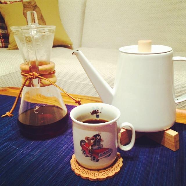 見て使って楽しむ☆コーヒータイムを演出する雑貨&道具