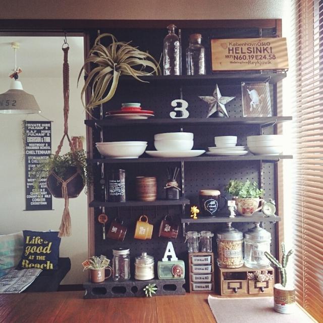 キッチン キッチン diy 棚 : 場所やアイテム別「DIYリアル ...