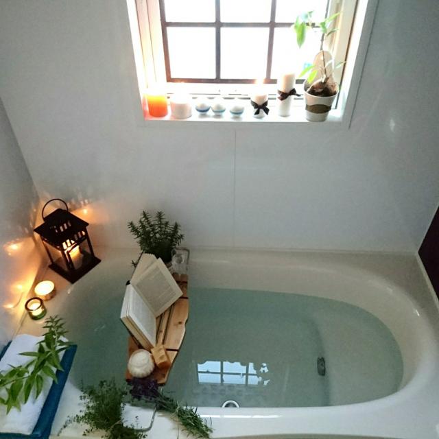 バスタイムにリラックス♪お風呂で気持ちよく過ごす方法