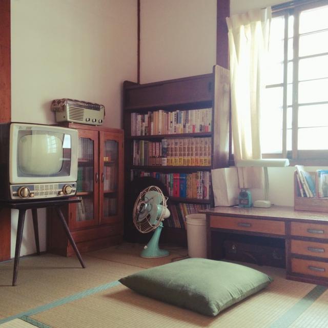 居心地の良さが魅力☆昭和レトロスタイルのお部屋たち
