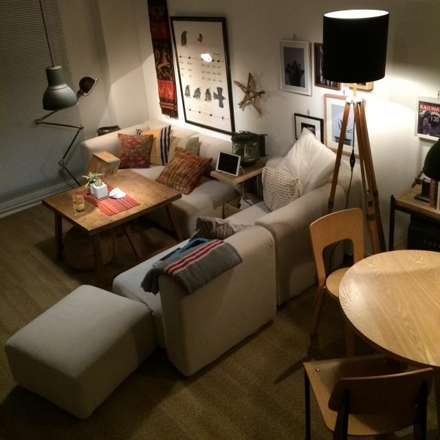 置き方でこんなに変わる!ソファのレイアウト自由自在♪ | RoomClipMag | 暮らしとインテリアのwebマガジン